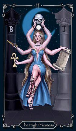 II - Die Hohepriesterin Tarot Tageskarte