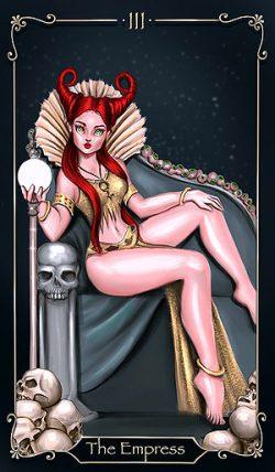 III - Die Herrscherin Tarot Tageskarte