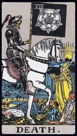 XIII - Der Tod Tarot Tageskarte