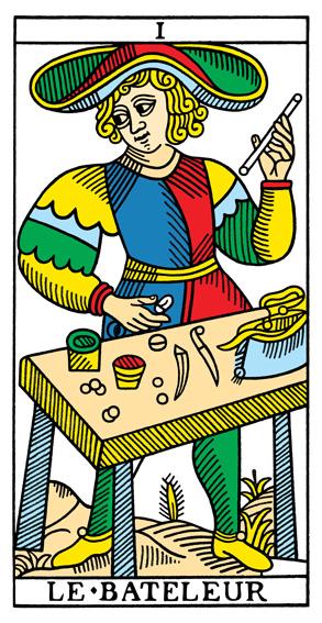 I - Der Magier Tarot Tageskarte