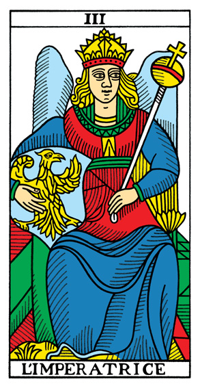 III - Herrscherin Tarot Tageskarte