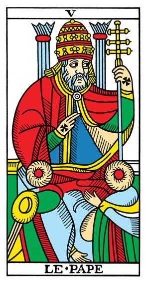 V - Der Hierophant Tarot Tageskarte