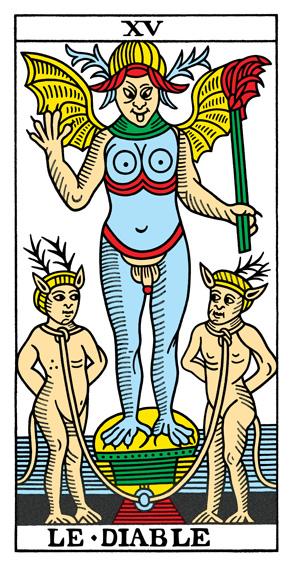 XV - Der Teufel Tarot Tageskarte