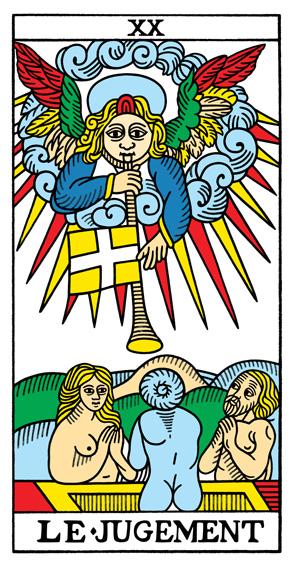 XX - Das Gericht Tarot Tageskarte