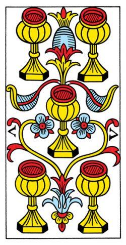 Fünf der Kelche Tarot Tageskarte