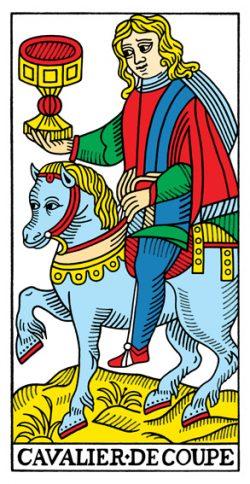 Ritter der Kelche Tarot Tageskarte