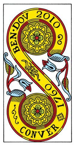 Zwei der Münzen Tarot Tageskarte