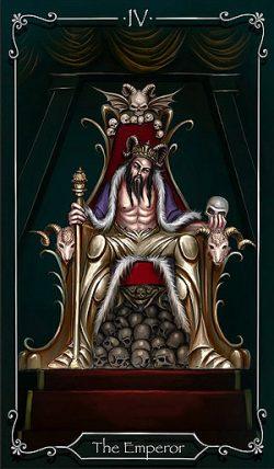 IV - Der Herrscher Tarot Tageskarte