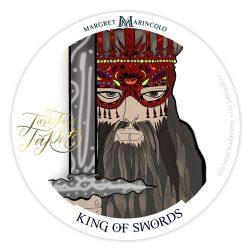 König der Schwerter Tarot Tageskarte