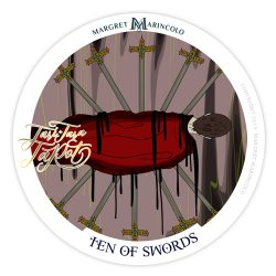 Zehn der Schwerter Tarot Tageskarte