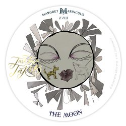 XVIII - Der Mond Tarot Tageskarte