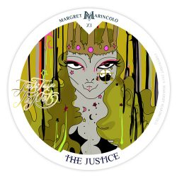 XI - Die Gerechtigkeit Tarot Tageskarte