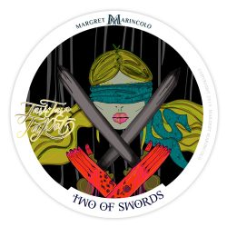 Zwei der Schwerter Tarot Tageskarte