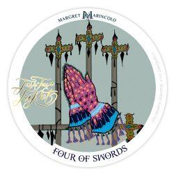 Vier der Schwerter Tarot Tageskarte