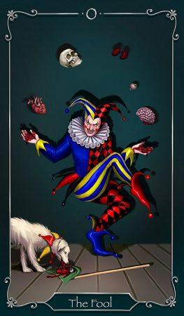 Der Narr Tageskarte Tarot